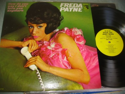 FREEDA PAYNE - HOW SAY I DONT LOVE - MGM PROMO { J 1079