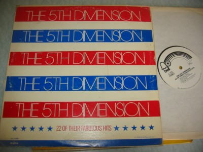 5 th DIMENSION - 22 FABULOUS HITS - BELL RECORDS { J 1087