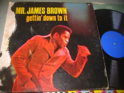 JAMES BROWN - GETTIN DOWN TO IT - KING { J 1063