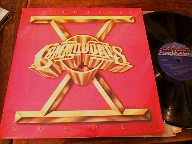 THE COMMODORES - HEROES - 1980 MOTOWN