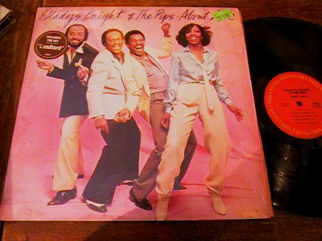 GLADYS KNIGHT & PIPS - ABOUT LOVE - 1980 COLUMBIA