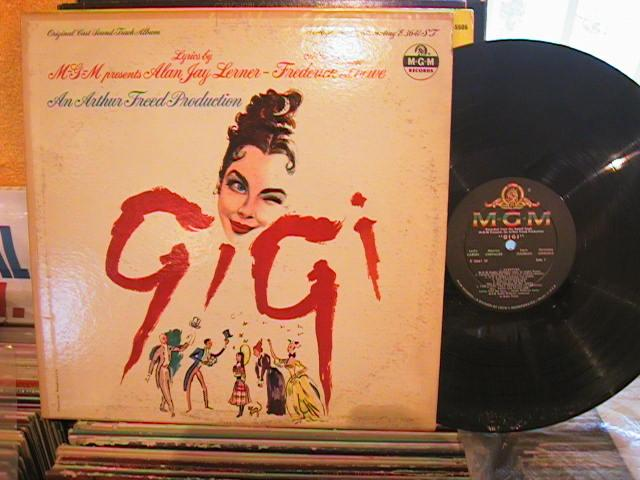 GIGI - MGM RECORDS E 3641