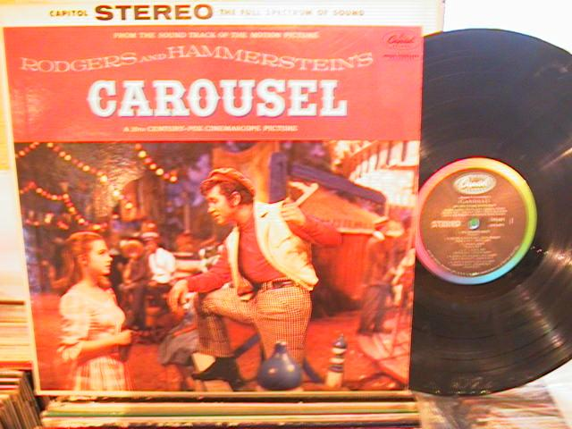 CAROUSEL - RODGERS & HAMMERSTEIN - CAPITOL SW 694