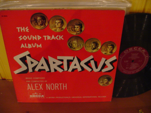 SPARTACUS - ALEX NORTH - DECCA MONO