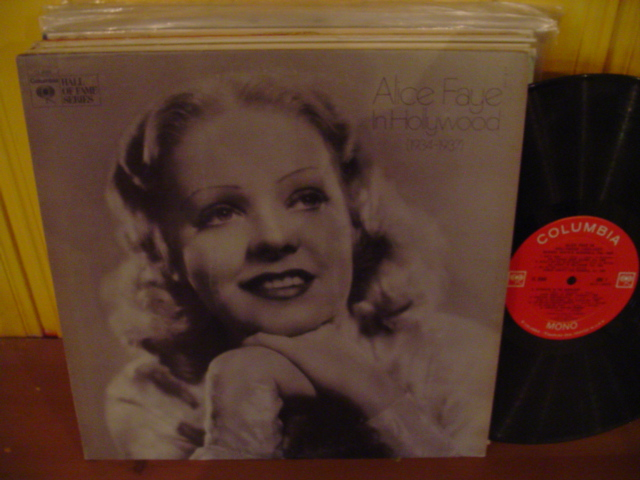 ALICE FAYE - IN LONDON 1934 -37 - COLUMBIA