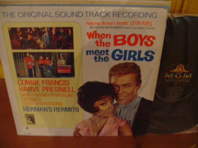 When The Boys Meet The Girls - Herman's Hermits - MGM