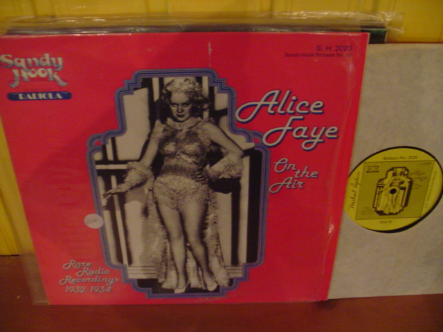 ALICE FAYE - ON THE AIR - RADIO 1933-34 - SANDY HOOK