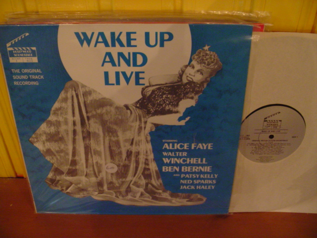 ALICE FAYE - WAKE UP AND LIVE - HOLLYWOOD