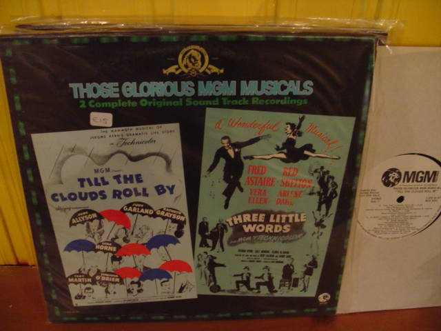 TILL CLOUDS ROLL BY & THREE LITTLE WORDS - 2 LP MGM