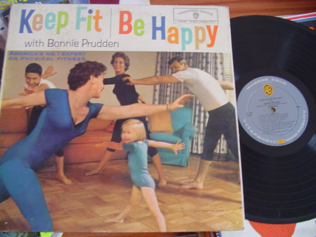 BONNIE PRUDDEN - KEEP FIT BE HAPPY 1 - WARNER