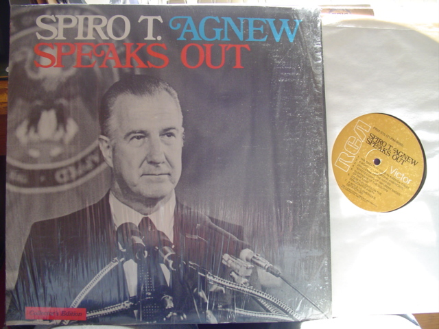 SPIRO T AGNEW - SPEAKS OUT - RCA