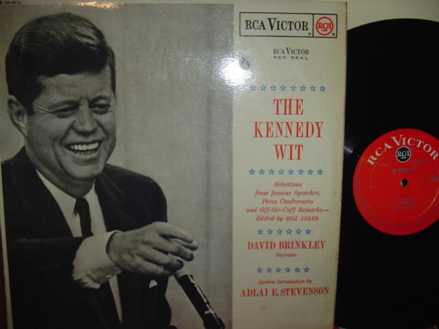 JOHN F KENNEDY - THE KENNEDY WIT - RCA UK