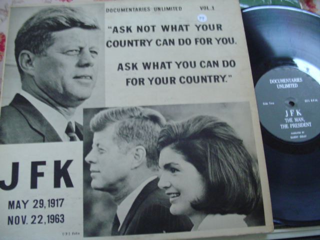 JOHN F KENNEDY - ASK NOT - DOCUMENTARIES RECORDS { 79
