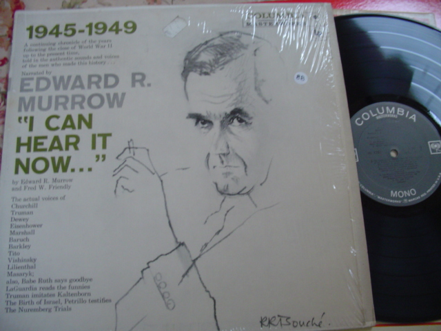 EDWARD MURROW - I CAN HEAR IT NOW - COLUMBIA { 88