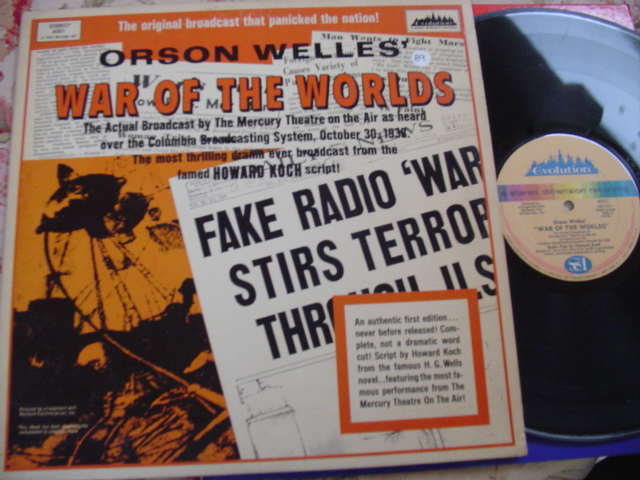 ORAON WELLES - WAR OF THE WORLD - 2LP { 89