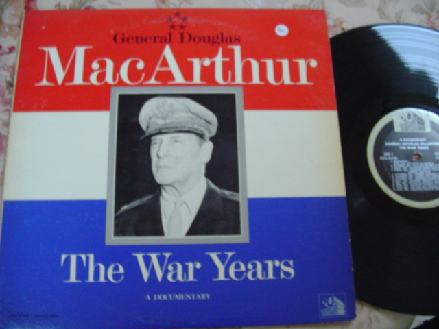 GENERAL DOUGLAS MacARTHUR - THE WAR YEARS - FOX { 90