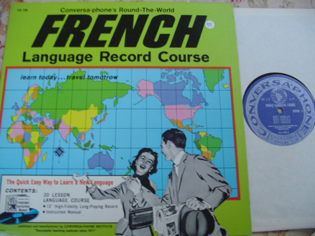 FRENCH LANGUAGE COURSE - CONVERSA RECORDS {95