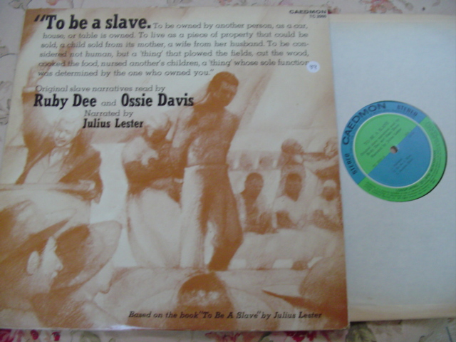 TO BE A SLAVE - RUBY DEE & OSSIE DAVIS - 2LP { 99