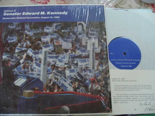 SENATOR EDWARD TED KENNEDY - CONVENTION 1980 { 81