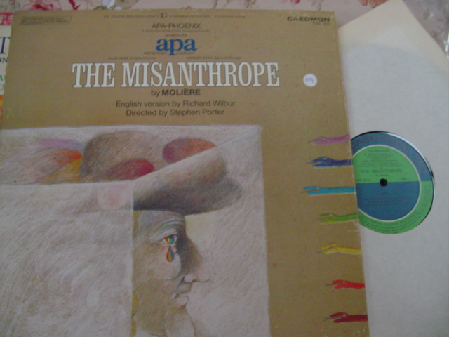 THE MISANTHORPE - MOLIERE CAEDMON 2LP { 119