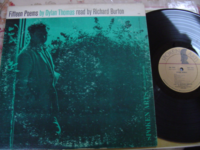 DYLAN THOMAS - 15 POEMS - RICHARD BURTON - { 86