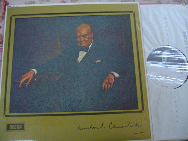 WINSTON CHURCHILL - DECCA LXT 6200 { 87