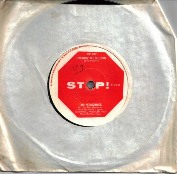 The Memories - A Childs Time - Stop OP 102 - 1975