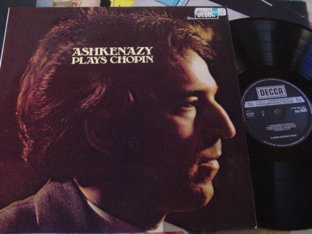 ASHKENAZY - PLAYS CHOPIN - DECCA 1975
