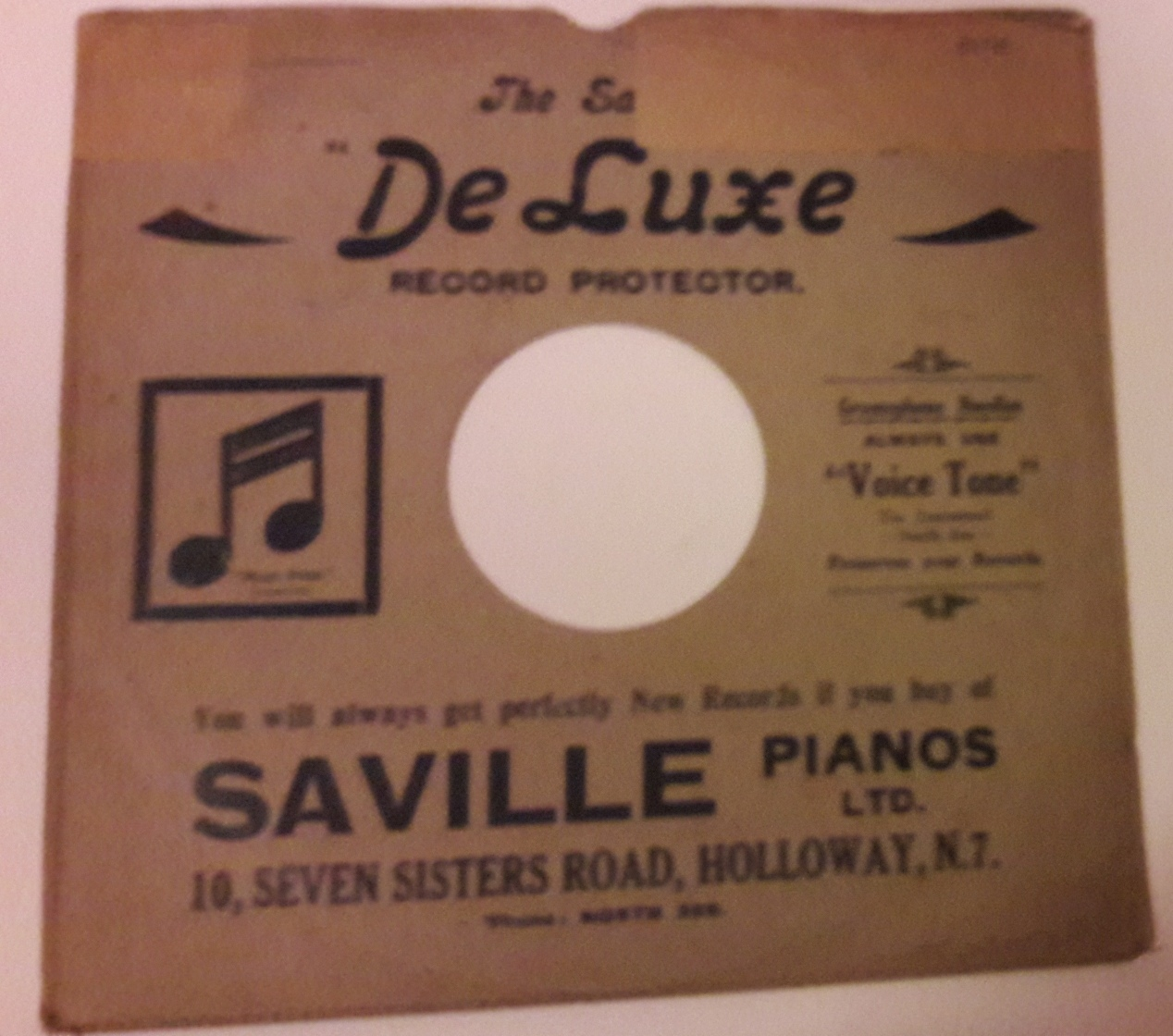 Saville Gramophone Store 10, Seven Sisters Holloway N.7 { 1 }