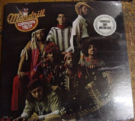 SEALED - MANDRILL - COMPOSITE TRUTH - POLYDOR PROMO [ 170