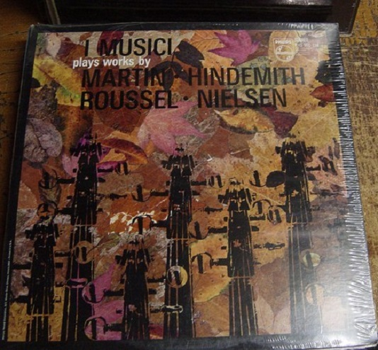 SEALED - HINDEMITH - I MUSICI CINO GHEDIN viola - PHILIPS
