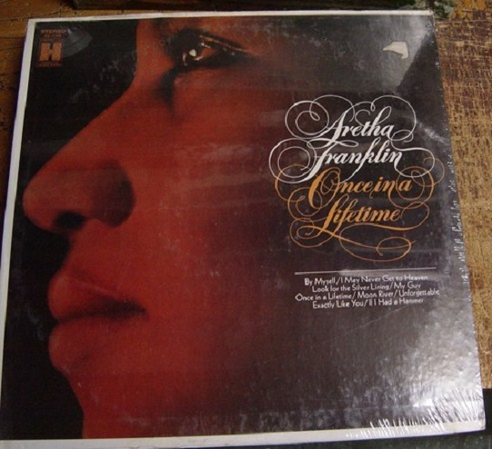 SEALED - ARETHA FRANKLIN - ONCE IN A LIFETIME - HARMONY [ 178