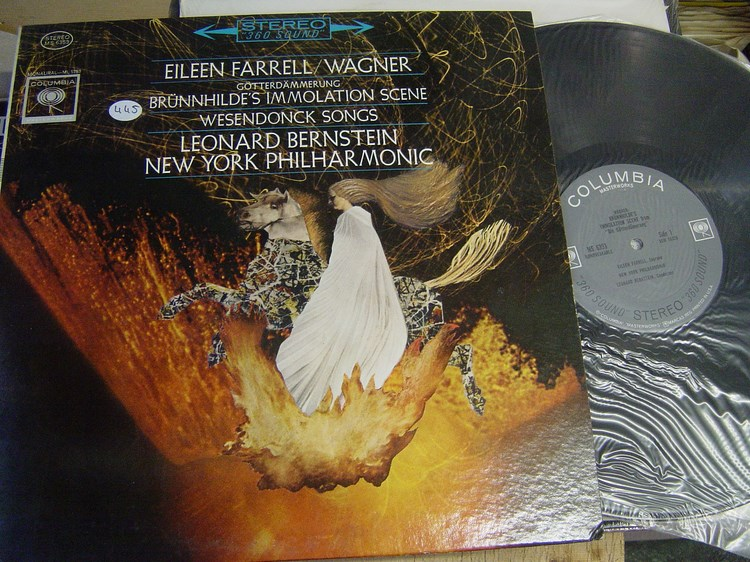 Eileen Farrell - Wagner - Columbia Stereo - sealed