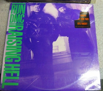 SEALED - RUN DMC - RAISING HELL PROFILE [ 631