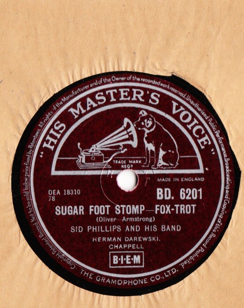 Sid Phillips - Sugar Foot Stomp - HMV UK