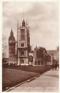 St. Margarets Church London - Real Photo