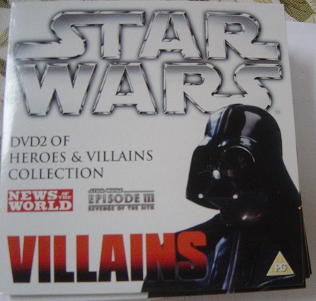 Star Wars - Villians - News of the World DVD