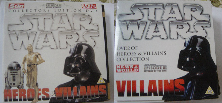 Star Wars - Heroes & Villians - News of the World 2 DVD