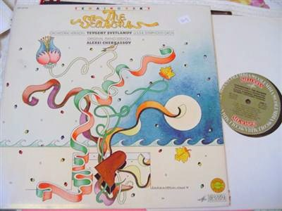TCHAIKOVSKY - THE SEASONS - COLUMBIA MELODIYA 2LP