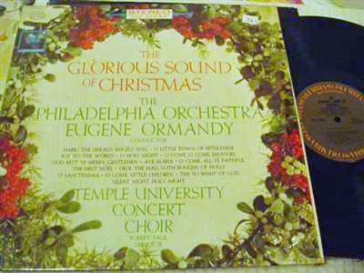 TEMPLE UNIVERSITY CHOIR - CHRISTMAS - ORMANDY - COLUMBIA