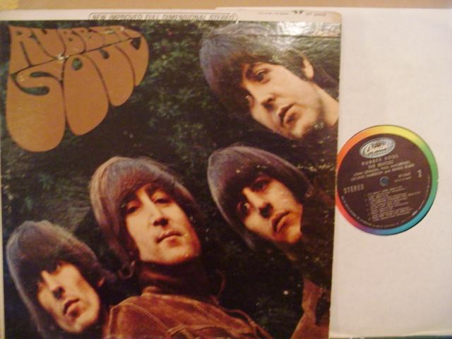 THE BEATLES - RUBBER SOUL - USA CAPITOL 1422