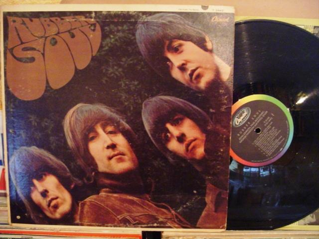 THE BEATLES - RUBBER SOUL - USA CAPITOL { 1428