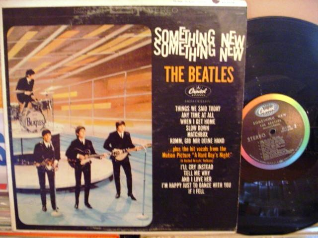 THE BEATLES - SOMETHING NEW - USA CAPITOL { AF 1396