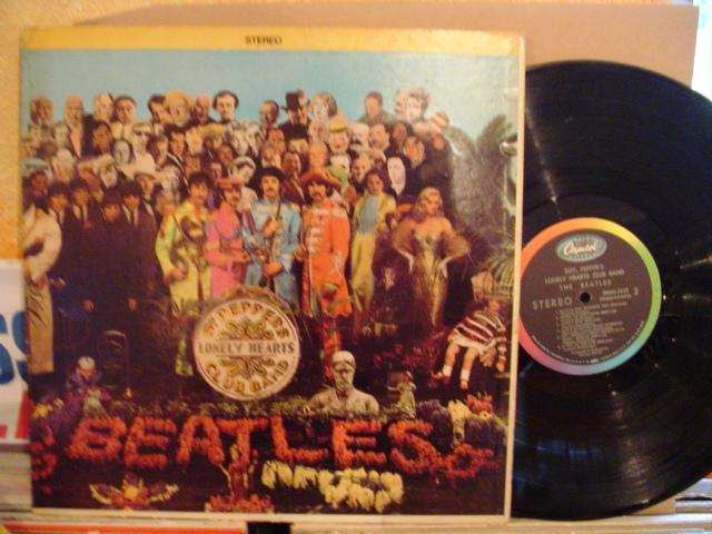 THE BEATLES - Sgt PEPPERS - USA CAPITOL { 1431