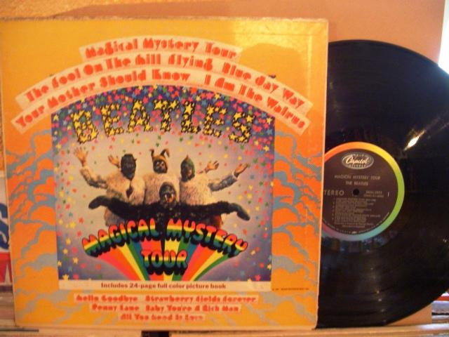 THE BEATLES - MAGICAL MYSTERY TOUR - Capitol USA - 1413