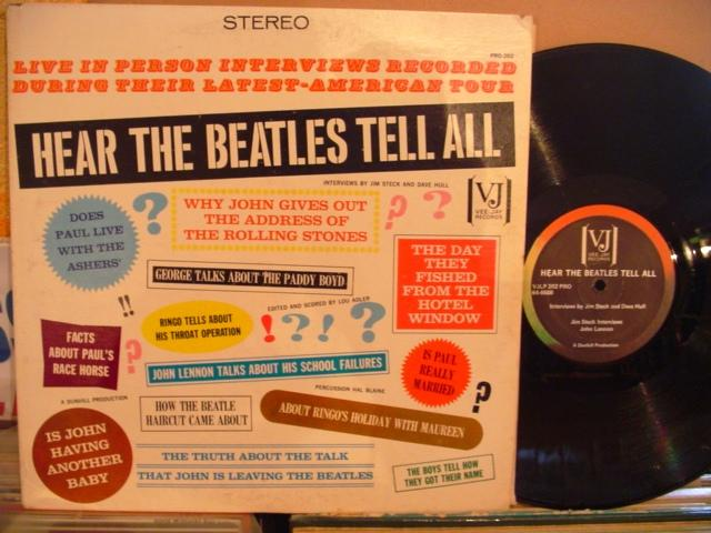 THE BEATLES - HEAR TELL ALL - VJ STEREO USA { 1444