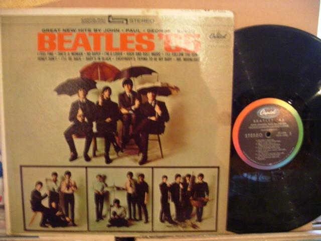 THE BEATLES - 65 - CAPITOL RECORDS USA PRESSING - 1393
