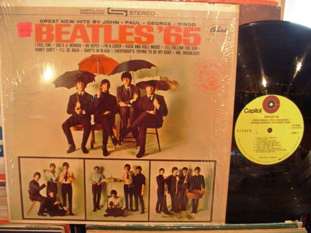 THE BEATLES - 65 - CAPITOL RECORDS USA PRESSING - AF 1398