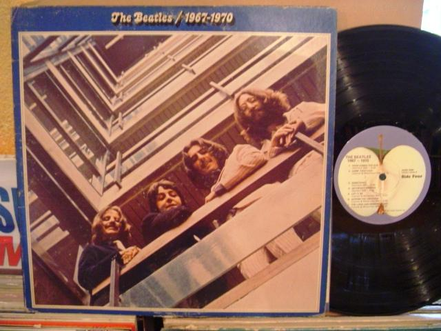 THE BEATLES - BLUE ALBUM 67-70 - APPLE 2 LP { 1440