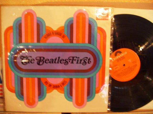 THE BEATLES - FIRST - POLYDOR GERMAN { 1443